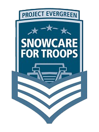 Snow Care For Troops Logo